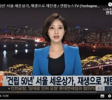 '건립 50년' 서울 세운상…